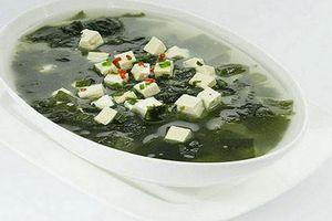 Đổi vị cơm nhà với các món ăn chế biến từ tảo biển