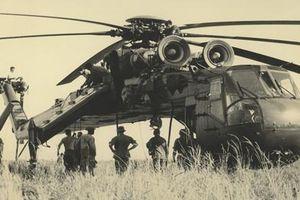 Cận cảnh 'cần cẩu bay' Mỹ trên chiến trường Việt Nam