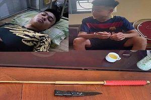 Bắt giữ 2 đối tượng chém chủ nhà nghỉ vì không được thuê phòng tại Sầm Sơn