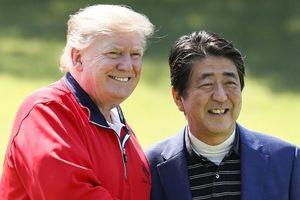 Ông Donald Trump công du Nhật Bản: 'Ngoại giao tranh thủ' kiểu Shinzo Abe
