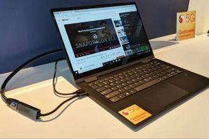 Lenovo công bố máy tính Windows 10 5G đầu tiên xài chip Qualcomm