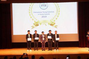Du học sinh Việt nhận giải Nhà khoa học xuất sắc tại Hàn Quốc
