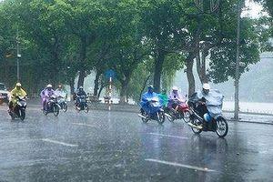 Tuần này, mưa dông trên cả nước