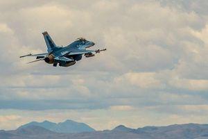 Xem chiến đấu cơ F-16 Mỹ 'giả dạng' thành Su-57 của Nga lần đầu tung cánh