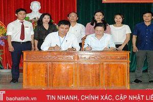Hội LHPN Hà Tĩnh đỡ đầu xã Thuần Thiện xây dựng nông thôn mới