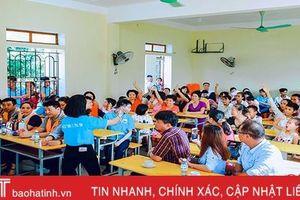 'Tết thiếu nhi - lan tỏa nghị lực sống' ở Làng Trẻ em mồ côi Hà Tĩnh