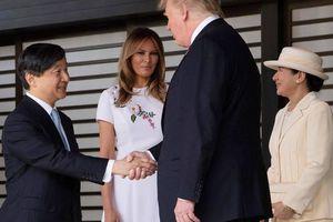 Vợ chồng ông Donald Trump diện kiến Thiên hoàng mới của Nhật Bản