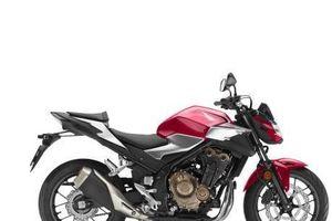 Honda Việt Nam phân phối mẫu xe Naked CB500F dành cho người mới chơi