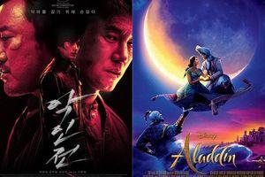 'Aladdin' dẫn đầu phòng vé Hàn tuần đầu tiên ra mắt - 'Trùm, Cớm và Ác Quỷ' của Ma Dong Seok vượt qua cột mốc 2 triệu khán giả
