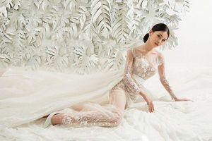 Không thể làm ngơ trước vẻ đẹp băng thanh ngọc khiết của 'cô dâu' Thùy Dung