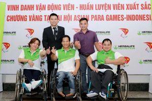 Vinh danh các vận động viên Paralympic Việt Nam