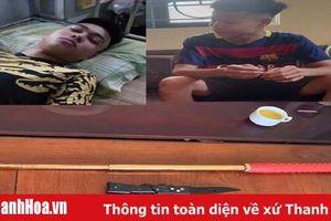 Xác minh, làm rõ 2 đối tượng chính trong nhóm thanh niên chém trọng thương chủ nhà nghỉ ở TP Sầm Sơn