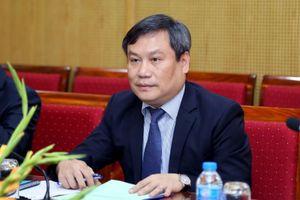 Thứ trưởng Vũ Đại Thắng làm việc với Đoàn Giám đốc điều hành của ADB