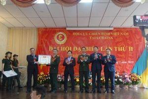 Xây dựng Hội Cựu chiến binh Việt Nam toàn Ukraine ngày càng vững mạnh