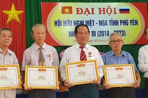Hội hữu nghị Việt - Nga tỉnh Phú Yên đẩy mạnh các hoạt động kỷ niệm ngày lễ lớn 2 nước