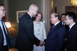 Thủ tướng chào đón công nghệ, kinh nghiệm của doanh nghiệp Thụy Điển