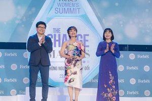 Trần Ly Ly được Forbes vinh danh Top 50 phụ nữ ảnh hưởng nhất Việt Nam
