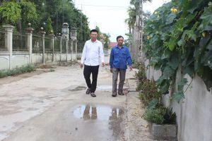 Về xóm giáo có đường giao thông rộng nhất Hà Tĩnh