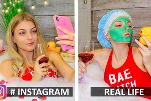 Khi những bức ảnh trên mạng và đời thực khác nhau đến 'chóng mặt'