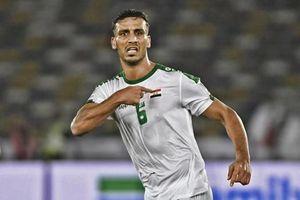 Pha ghi bàn đẹp của cầu thủ Iraq từng sút phạt tung lưới ĐT Việt Nam