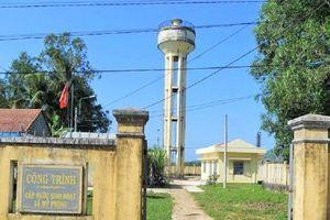 Nghịch lý nhà máy nước sạch mùa khô: Nơi quá tải, nơi chẳng ai dùng!
