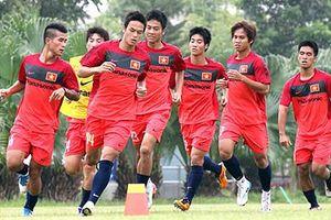 Đội tuyển U23 chuẩn bị gặp đối thủ Myanmar
