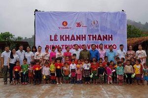 Khánh thành, bàn giao phòng học mầm non cho trẻ em dân tộc thiểu số biên giới