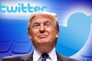 Ông Trump bị giảm sút ảnh hưởng trên Twitter