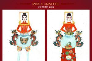 Tranh cãi dữ dội trang phục dân tộc dự thi Miss Universe lấy ý tưởng từ... bàn thờ