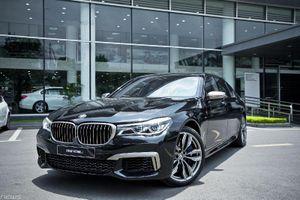 BMW M760i giá 13 tỷ đồng duy nhất Việt Nam