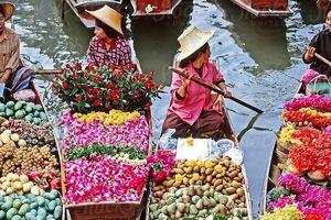Khám phá chợ nổi Thái Lan