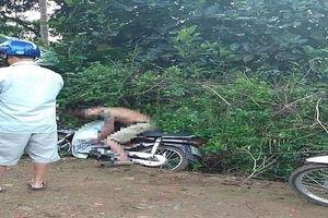 Nam thanh niên tử vong bất thường trên xe máy