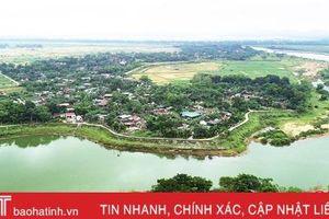 Nỗ lực xây dựng quê hương nhà thơ Huy Cận ngày càng phát triển