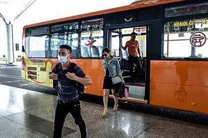 Lộ trình tuyến buýt chất lượng cao Hà Đông-sân bay Nội Bài sắp khai trương