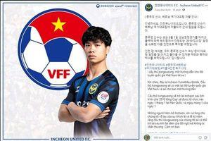 Incheon, Buriram gửi lời nhắn đặc biệt đến Công Phượng, Xuân Trường khi lên Tuyển