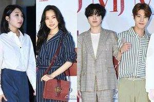 Apink cùng Sung Jong (Infinite) dự buổi công chiếu phim '0.0MHz' của Jung Eun Ji và Lee Seong Yeol