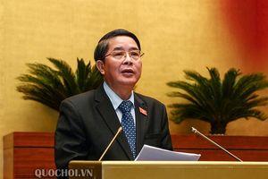 Quốc hội nghe báo cáo giải trình, tiếp thu, chỉnh lý dự án Luật Đầu tư công (sửa đổi)