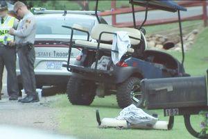 Kinh hoàng tai nạn xe golf tại Mỹ khiến cậu bé một tuổi tử vong