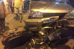 Khởi tố, bắt tạm giam kẻ say rượu lái ô tô đâm 2 nạn nhân thương vong ở Cao Bằng