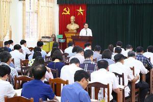 Chủ tịch Nguyễn Đức Chung: Lấy đối thoại với người dân là nòng cốt trong xử lý điểm nóng