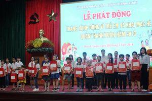 Quận Thanh Xuân phát động Tháng hành động vì trẻ em