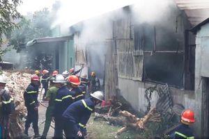 Cháy lớn tại xưởng làm hương ở Đà Nẵng