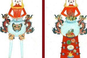 Chết cười với trang phục 'bàn thờ' thiết kế cho thí sinh Hoa hậu Hoàn vũ