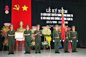 Trung đoàn 719 (Binh đoàn 16) đón nhận Huân chương Lao động hạng Ba
