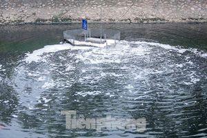 Nước sông Tô Lịch ra sao sau 10 ngày thí điểm công nghệ của Nhật?