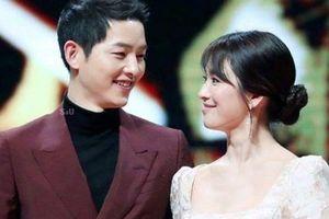 Song Joong Ki khéo léo phủ nhận tin đồn ly hôn Song Hye Kyo