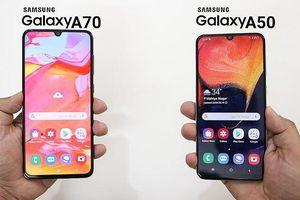 Bộ đôi Galaxy A50, Galaxy A70 đang giảm giá đến 1,3 triệu đồng