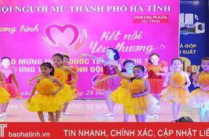 Kết nối yêu thương với trẻ em khiếm thị thành phố Hà Tĩnh