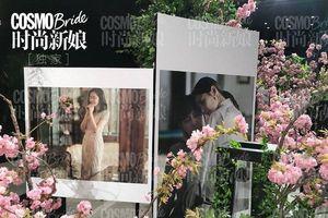 Đám cưới Choo Ja Hyun - Vu Hiểu Quang: Lễ đường lung linh, hoa cưới giống của Song Hye Kyo