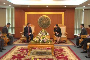Bộ TN&MT chia sẻ kinh nghiệm quản lý đất đai với Bộ TN&MT Lào